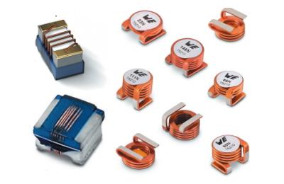 Представлені оновлені серії високочастотних катушок індуктивності від компанії Würth Elektronik