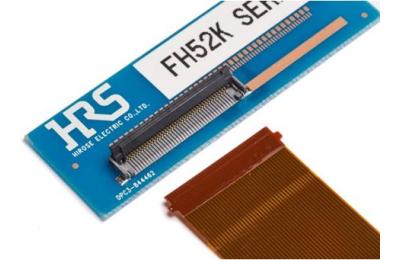 Надёжные FFC/FPC-разъёмы серии FH52K от компании HIROSE Electric, выдерживающие температуру до +125°C